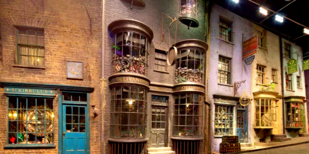 London Flug Hotel Harry Potter