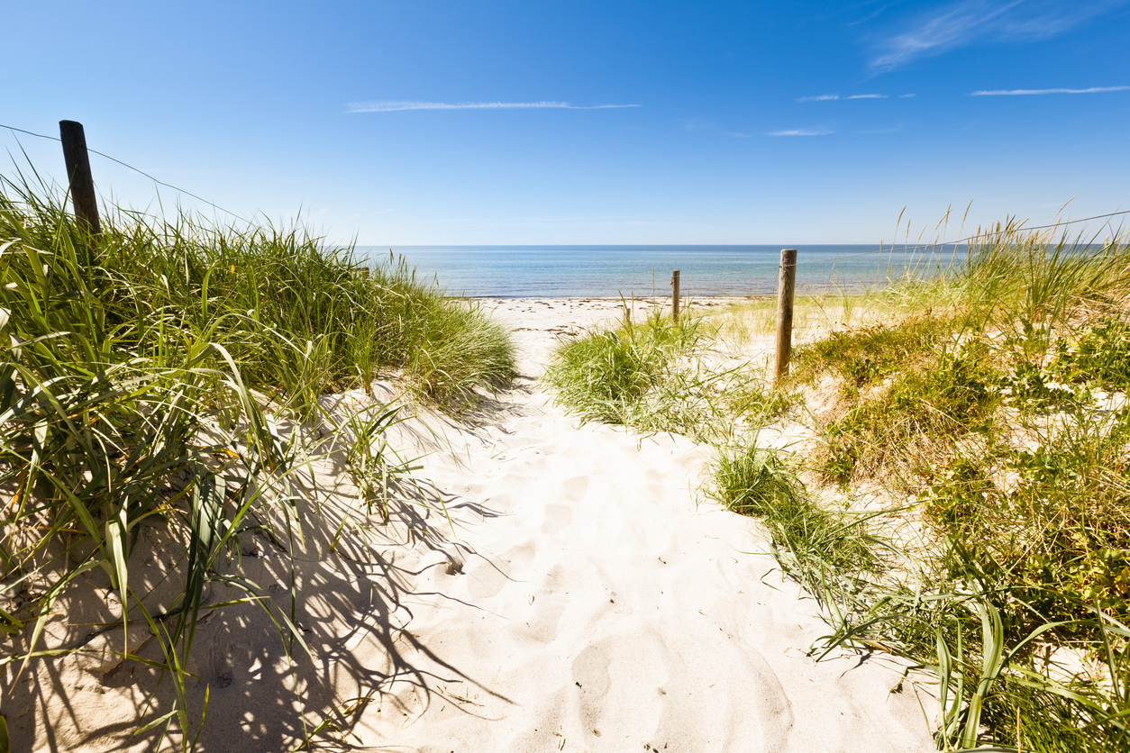 """Way to the beach, Baltic Sea, Germany"""