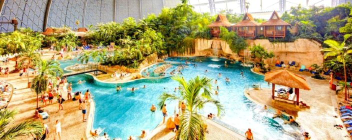 Tropical Islands im Zelt