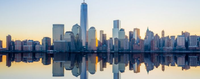 USA Reise Skyline Manhattan