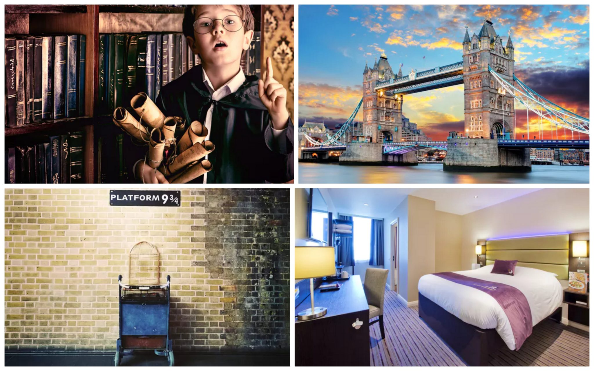 London Harry Potter Flug Und Hotel