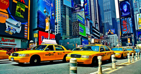 New York Reise Cabs