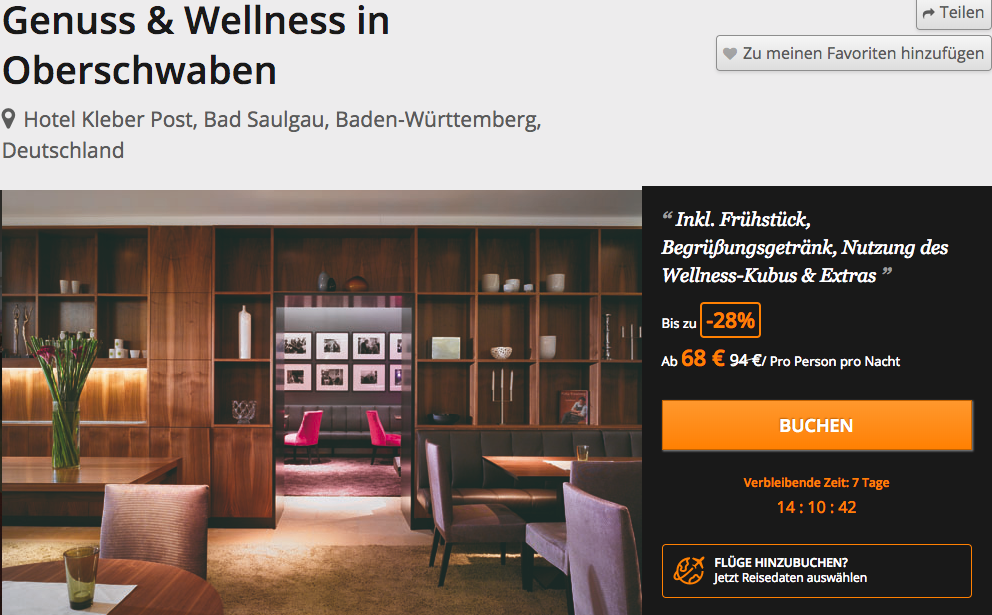 Wellness in Oberschwaben