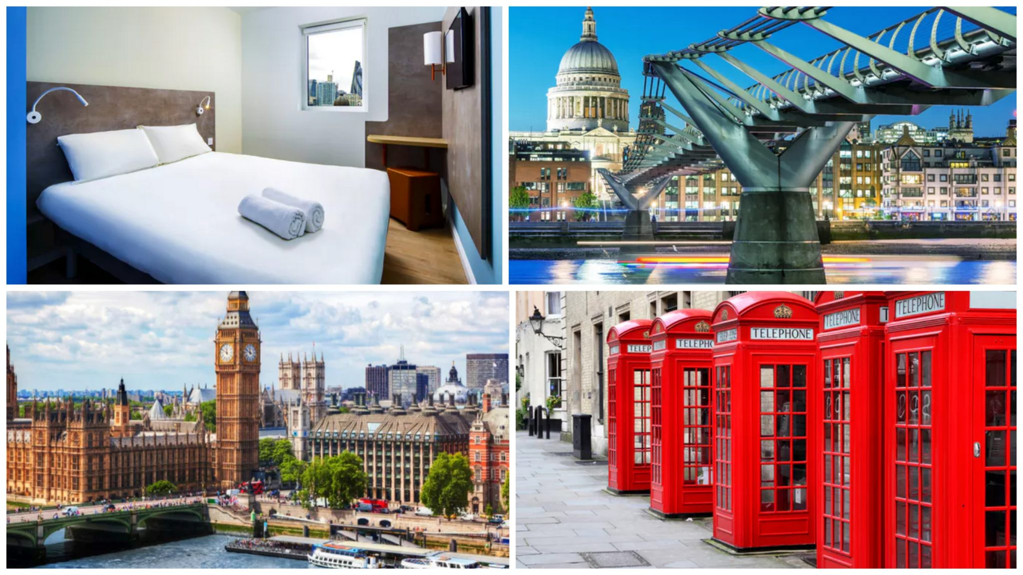 London Flug Hotel Transfer