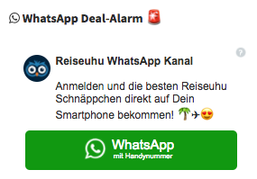 WhatsApp Deal-Alarm