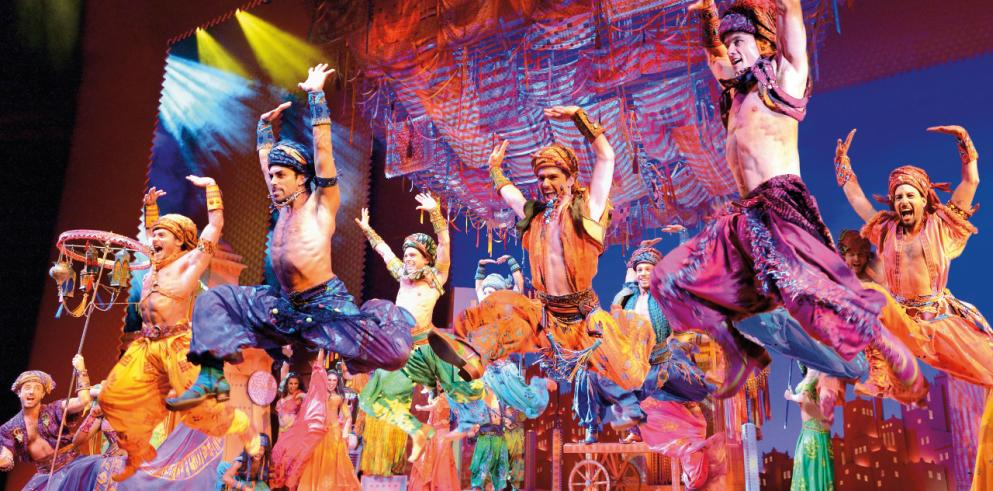 ALADDIN Musical in Hamburg