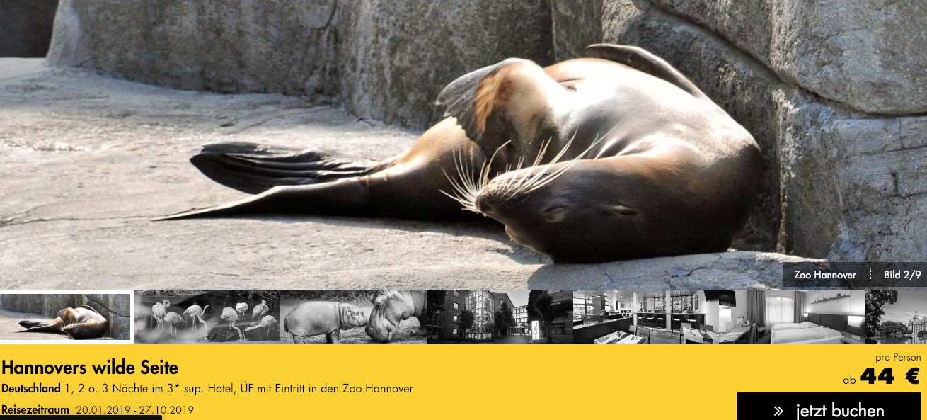 Hannover mit Zoo
