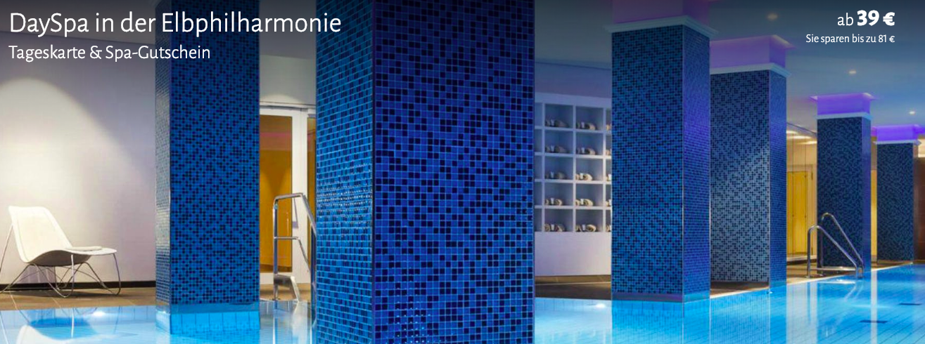 Wellness in der Elbphilharmonie