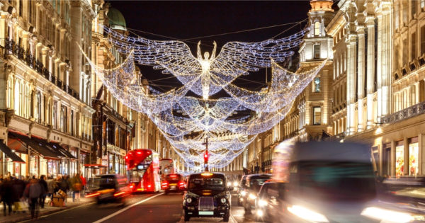 Christmas Shopping in London