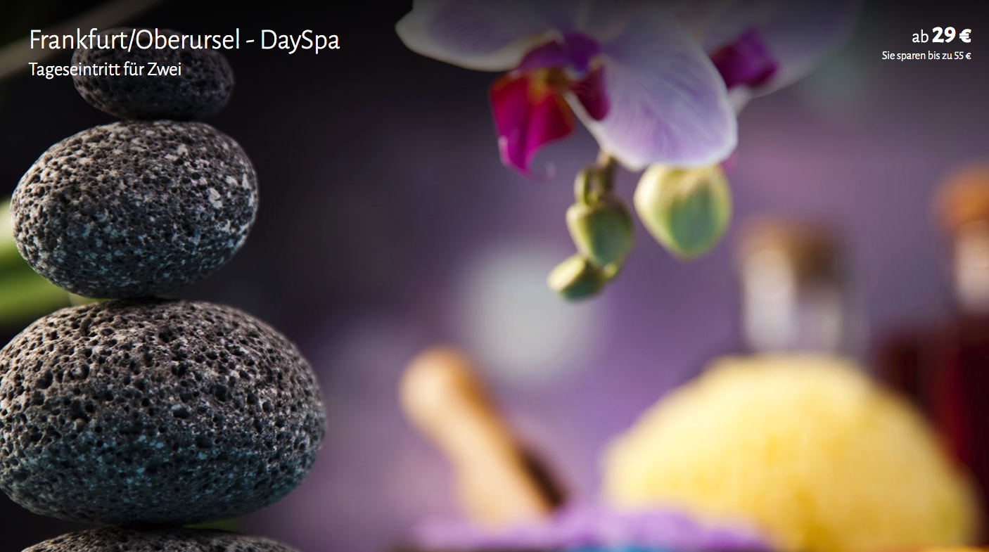 Day Spa Tickets