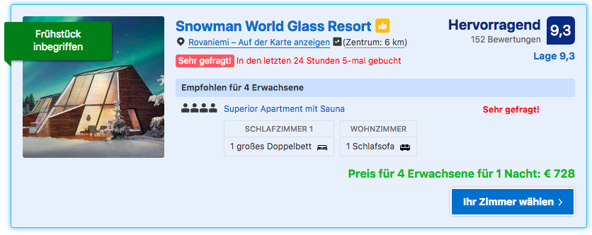 Snowman World Glass Resort