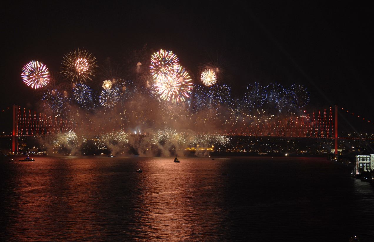 Silvester in Istanbul
