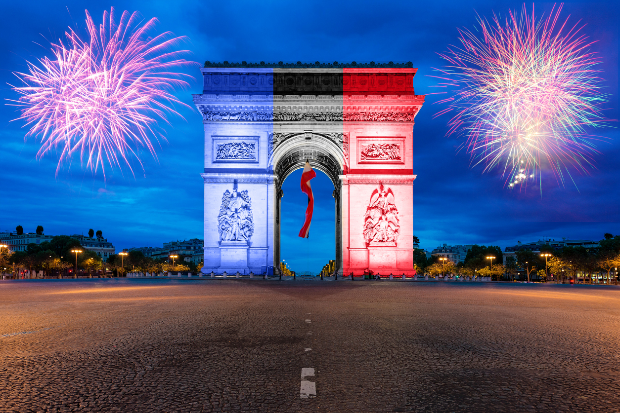 Silvester in Paris