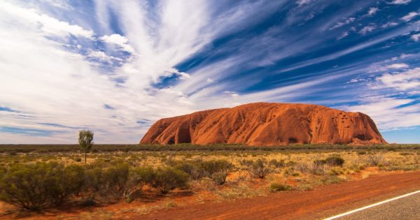 Ayers Rock Sperrung