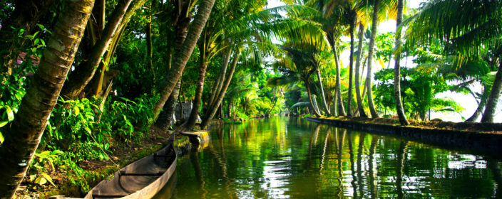 Backwaters von Kerala, Indien