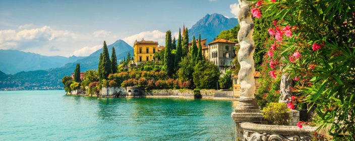 Varenna am Como See in Italien