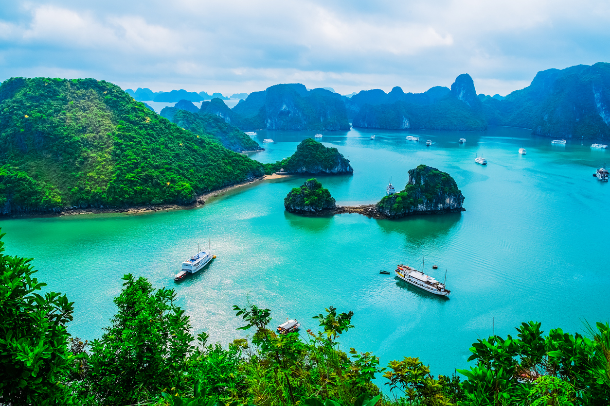 Halong Bay in Nordvietnam