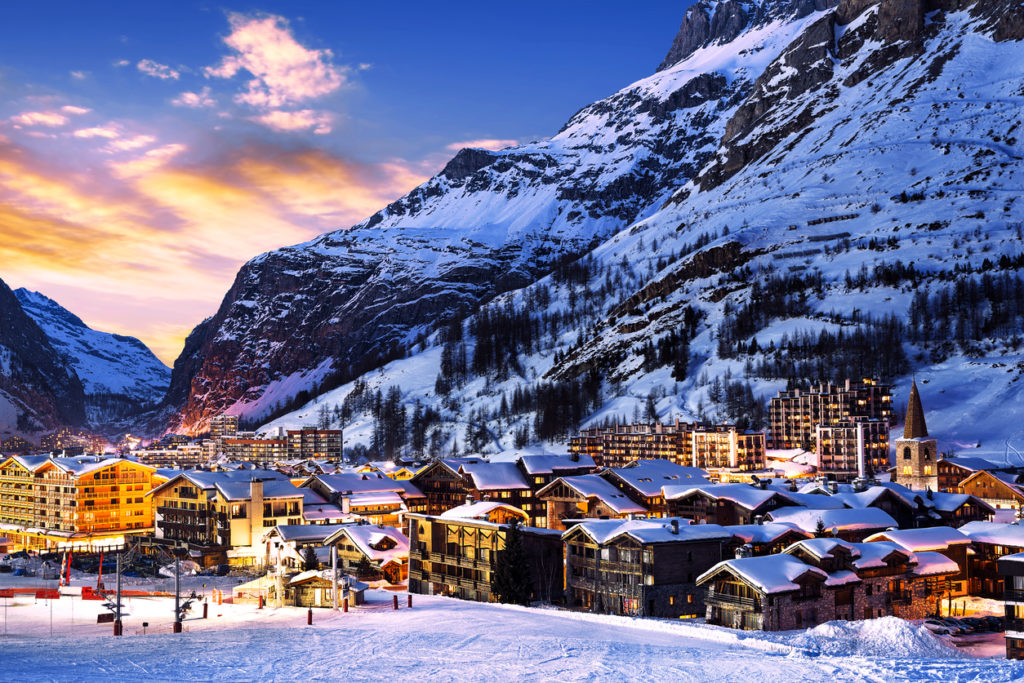 Val d'Isère in Frankreich